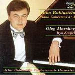 CD cover Rubinstein