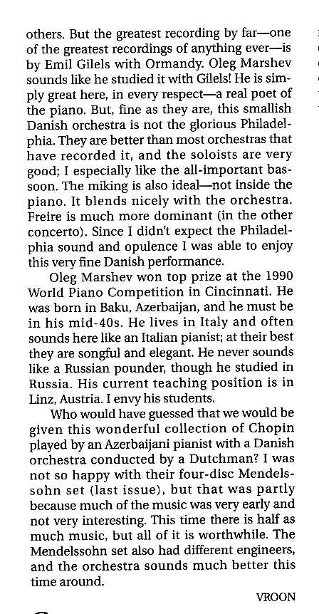 American Record Guide Chopin review2